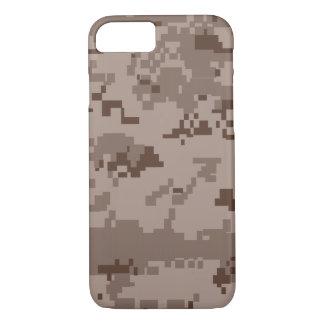 Coque iPhone 7 Caisse du camouflage iPhone7 de désert de la