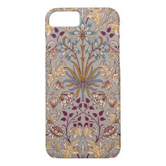 Coque iPhone 7 Caisse grise de l'iPhone 7 de jacinthe de colombe