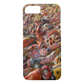Coque iPhone 7 Caisse maya colorée de téléphone de masques