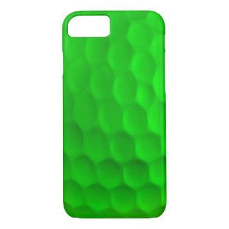 Coque iPhone 7 Caisse verte de l'iPhone 7 de boule de golf