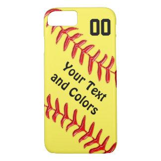 Coque iPhone 7 Caisses personnalisées de téléphone du base-ball