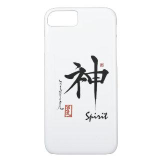 Coque iPhone 7 Calligraphie chinoise japonaise d'ESPRIT de