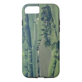 Coque iPhone 7 Campagne près de Montepulciano, d'Orcia de Val,