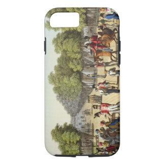 Coque iPhone 7 Campement de l'armée britannique dans Bois de Boul