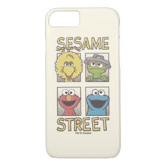 Coque iPhone 7 Caractère de StreetVintage de sésame comique