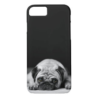 Coque iPhone 7 Carlin triste