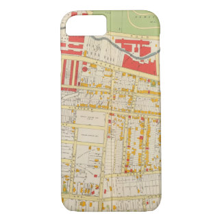 Coque iPhone 7 Carte 2 d'atlas de Yonkers
