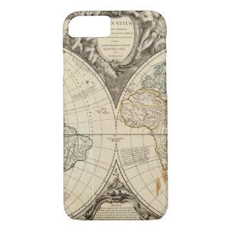 Coque iPhone 7 Carte 8 du monde
