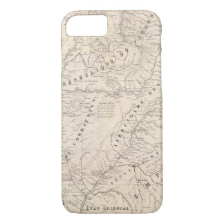 Coque iPhone 7 Carte, Corrientes Prov, mission de Terr
