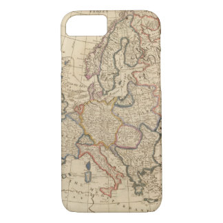 Coque iPhone 7 Carte de l'Europe