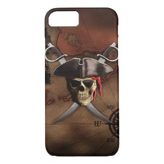 Coque iPhone 7 Carte de pirate
