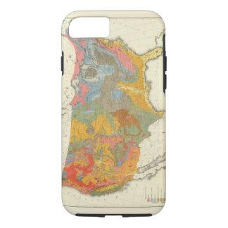 Coque iPhone 7 Carte géologique des USA