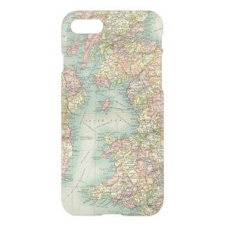 Coque iPhone 7 Carte politique d'îles britanniques