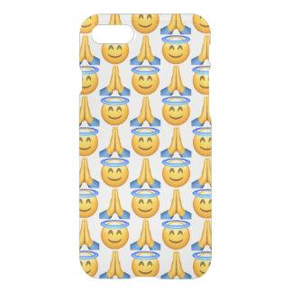 Coque iPhone 7 Cas de Clearly™ de l'iPhone 7 d'Emoji de ciel