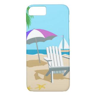 Coque iPhone 7 Cas de jours de plage
