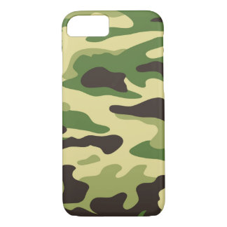 Coque iPhone 7 Cas de l'iPhone 7 de Camo
