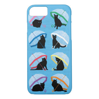 Coque iPhone 7 Cas de l'iPhone 7 de chats de n pleuvant chats '
