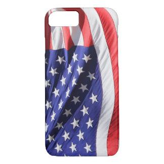 Coque iPhone 7 Cas de l'iPhone 7 de drapeau américain