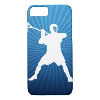 Coque iPhone 7 Cas de l'iPhone 7 de joueur de lacrosse