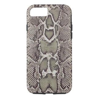 Coque iPhone 7 Cas de l'iPhone 7 de peau de serpent