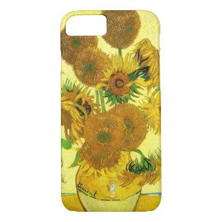 Coque iPhone 7 Cas de l'iPhone 7 de tournesols de Van Gogh