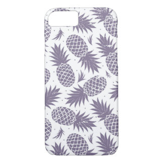Coque iPhone 7 Cas de l'iPhone 7 d'impression d'ananas