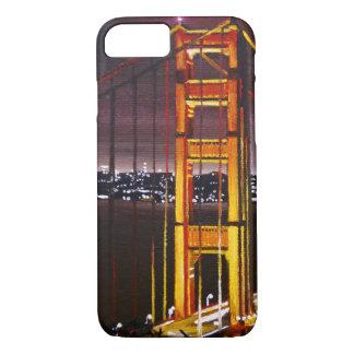 Coque iPhone 7 cas de l'iPhone 7 - golden gate bridge