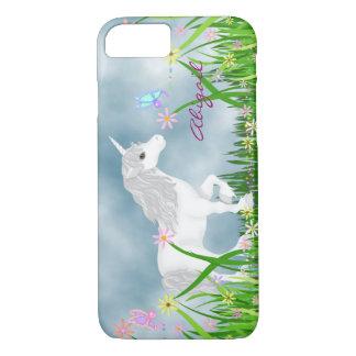 Coque iPhone 7 Cas de l'iPhone personnalisé 6 de licorne et de
