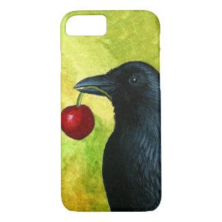 Coque iPhone 7 Cas de Raven de corneille de l'oiseau 55 pour