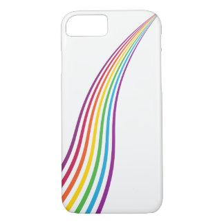 Coque iPhone 7 Cas de téléphone de bruissement de couleur