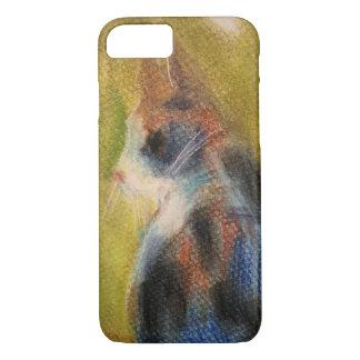 Coque iPhone 7 Cas de téléphone de chat de calicot