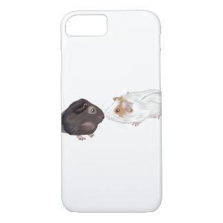 Coque iPhone 7 Cas de téléphone de cobaye, illustration de cobaye