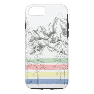 Coque iPhone 7 Cas de téléphone de couverture et de montagnes de