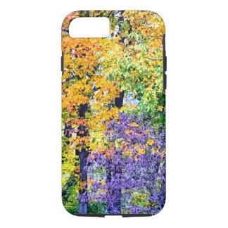Coque iPhone 7 Cas de téléphone de feuille d'automne