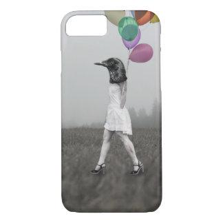 Coque iPhone 7 Cas de téléphone de fille de corneille