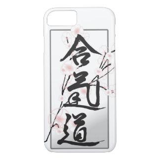 Coque iPhone 7 Cas de téléphone de kanji d'Aikido