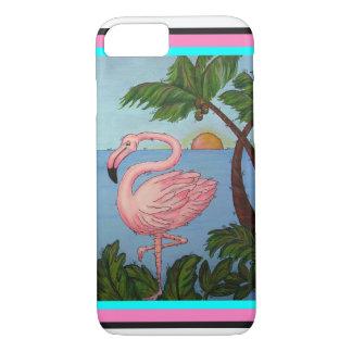 Coque iPhone 7 Cas de téléphone de paradis de flamant
