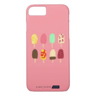 Coque iPhone 7 Cas de téléphone de Popsicles d'été