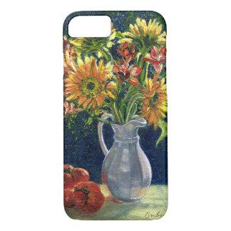 """Coque iPhone 7 Cas de téléphone de """"tournesols et de tomates"""""""