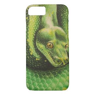 Coque iPhone 7 Cas de téléphone de yeux de serpent