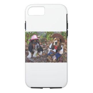 Coque iPhone 7 Cas de téléphone portable de chien de basset