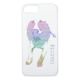 Coque iPhone 7 Cas de téléphone portable de conception de Wordart