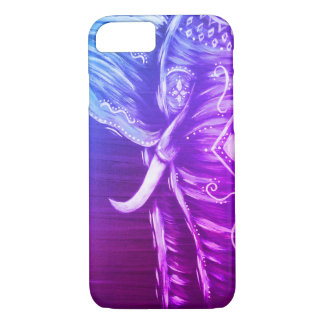 Coque iPhone 7 Cas de téléphone portable d'éléphant