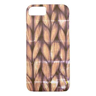Coque iPhone 7 Cas de tricotage de téléphone