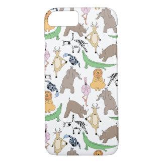 Coque iPhone 7 Cas de yoga de safari