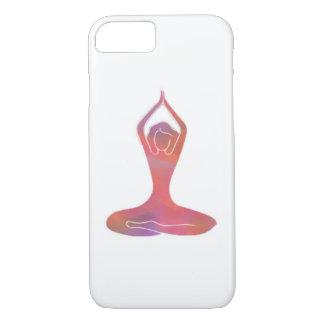 Coque iPhone 7 Cas d'Iphone 6 de fille de yoga