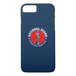 Coque iPhone 7 Cas d'IPhone 6 d'emblème de garde nationale des
