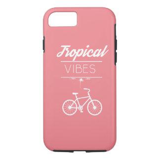 Coque iPhone 7 Cas dur de l'iPhone 7 tropicaux de vibraphone