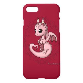 Coque iPhone 7 Cas dur d'iPhone de dragon d'amour