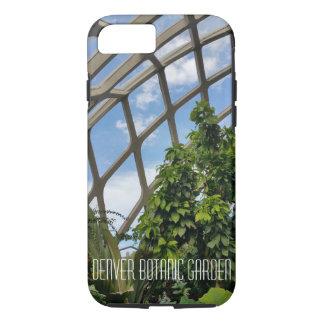 Coque iPhone 7 Cas dur d'ipphone de jardin botanique de Denver